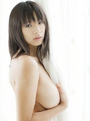 Hana Haruna teases us with her massive natural breasts